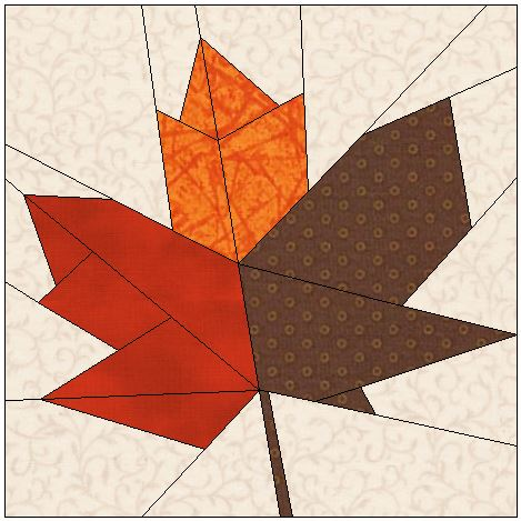 Quilt Pattern For Maple Leaf : Kari Schell On Point Quilter Blog - On Point Quilter