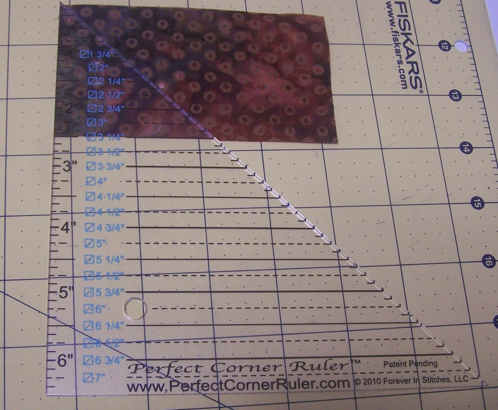 Drawing Lines Using A Ruler Ks : Kari schell on point quilter