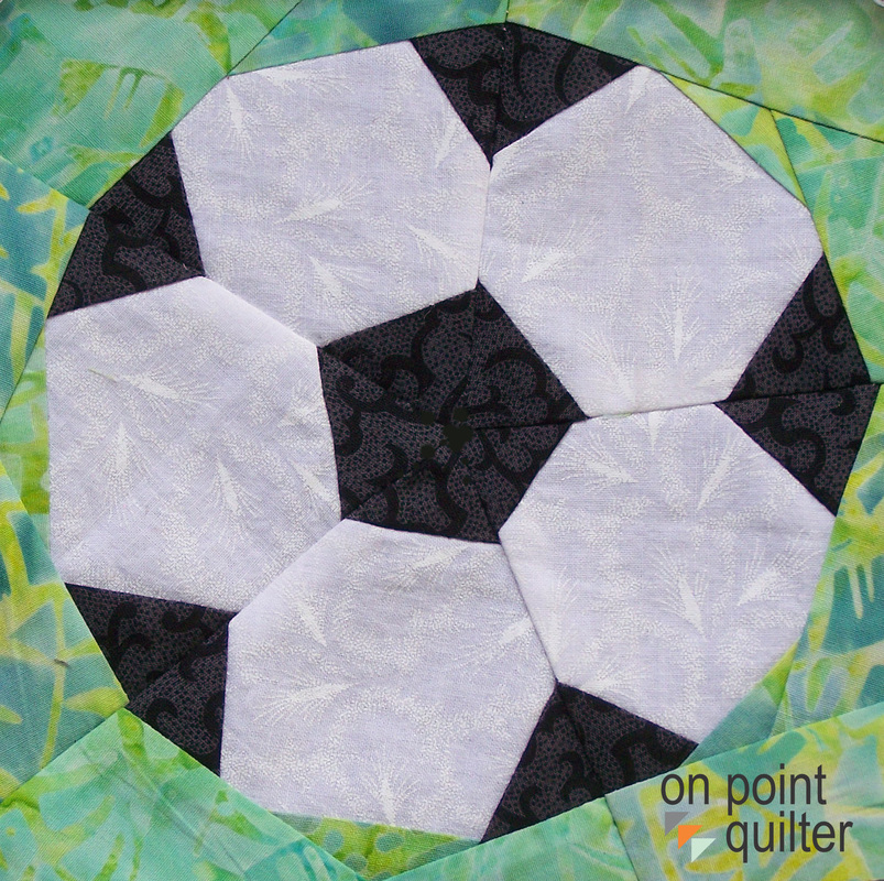 Soccer Pattern Available from On Point Quilter