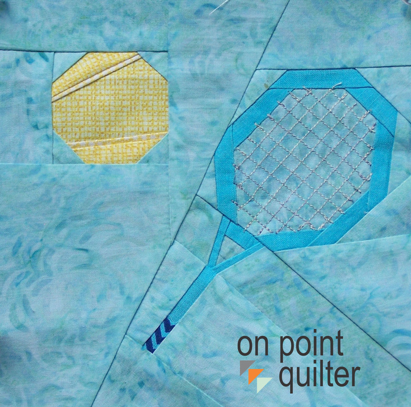 Tennis Pattern Available from On Point Quilter