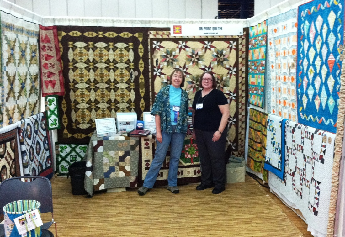 On Point Quilter Booth