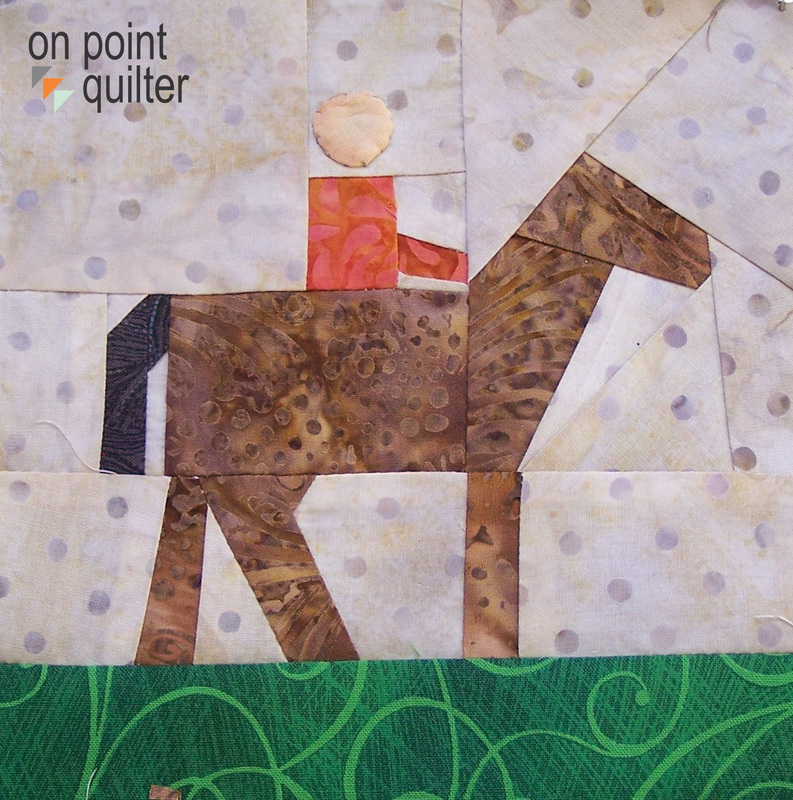 Paper Pieced Pattern available from On Point Quilter