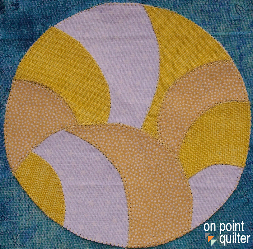 Applique Pattern available from On Point Quilter